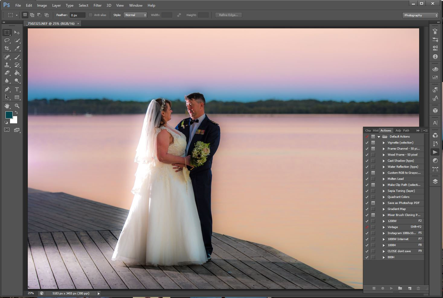 Workflow for Post-Processing RAW Images in Photoshop
